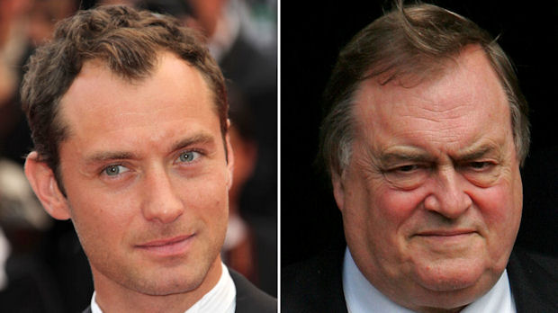 Former deputy PM John Prescott and actor Jude Law are among dozens of public figures who have settled damages claims in connection with News of the World phone hacking. (Getty)