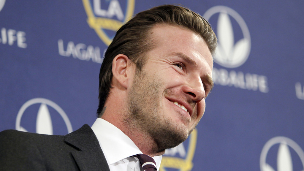 David Beckham is re-signing with La Galaxy for two years (Reuters.)