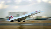 The world's first supersonic passenger plane, Concorde.  (Getty)