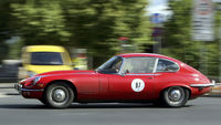 The Jaguar E-type, described by Enzo Ferrari as