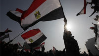 Demonstrators take to Cairo's Tahrir Square to mark the first anniversary of the uprising to oust President Hosni Mubarak (Reuters)