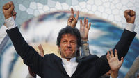 Imran Khan is dismissed by his opponents as a cricket-loving lightweight, but the hundreds of thousands who now attend his rallies would disagree. (Reuters)