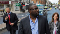 Restrictions preventing children from smacking their children were partly responsible for the riots which erupted in English cities last summer, says Tottenham Labour MP David Lammy. (Getty)