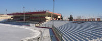 Ghazi Stadium where Afghanistan's female boxers train.