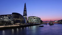 Designed by architect Renzo Piano, the 95-storey Shard occupies a site next to London Bridge station
