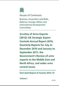 Scrutiny of Arms Export report
