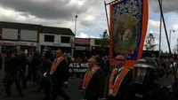 Violence breaks out in Belfast over Orange marches (Carl Dinnen)