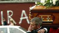 Jean McConville's funeral was held in 2003 (pic: Reuters)