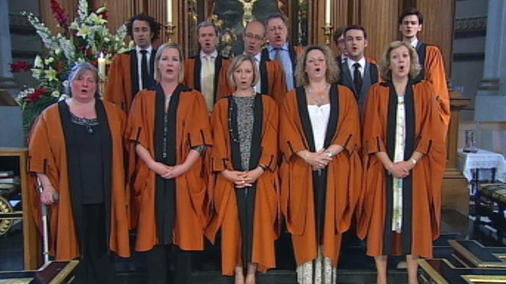 St Bride's choir