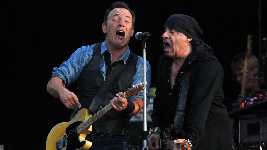 Bruce Springsteen at Hard Rock Calling (pic:Getty)