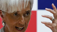 The Washington-based IMF reported on Monday that UK gross domestic product this year would be 0.2 per cent, down from a projected 0.8 per cent, leaving the trailing expectations for France and Germany