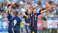 Japanese women's football team (Getty)