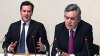 Gordon Brown criticises the Sun for revealing his son's cystic fibrosis, while Chancellor George Osborne tells the Leveson inquiry he did not attend a pre-election meeting with the Murdochs in 2010.