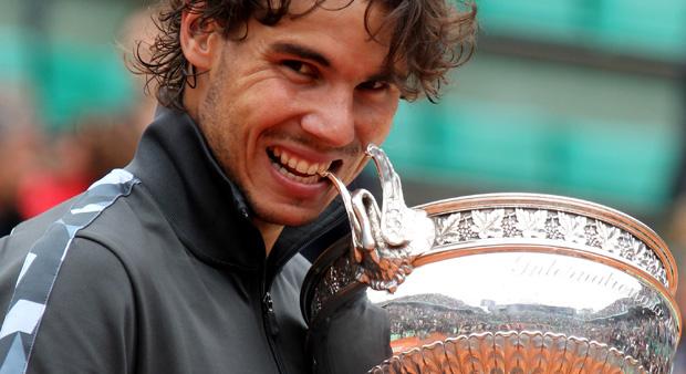 Magnificent seven as Rafael Nadal makes tennis history. (Reuters)