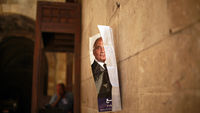 A poster of Egyptian Presidential Candidate Ahmed Shafiq (Reuters)
