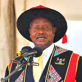 Museveni - Getty