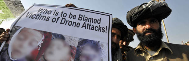 UK accused of 'assisting' covert CIA drone strikes. (Getty)