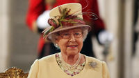 The Queen addresses both houses of parliament on her diamond jubilee. (Getty)