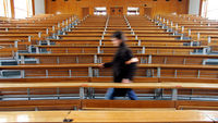 There will be an estimated 11,000 fewer university places this year. (Reuters)