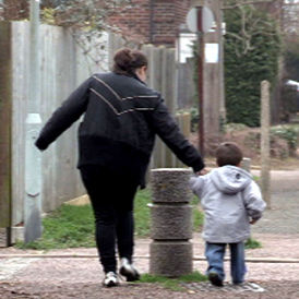 Britain's working families at 'tipping point'.