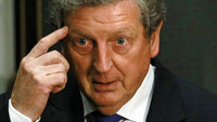 Not a cone has been placed on a training pitch, yet Roy Hodgson has already had a taste of the unique pressures that come with being England manager, writes John Anderson. (Reuters)