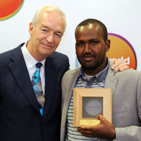 Jamal Osman named One World media journalist of the year