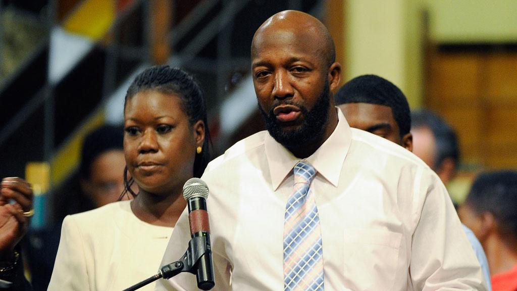 Trayvon Martin's parents (Getty)
