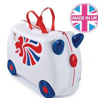 Trunki manufacturing moved from China to the UK
