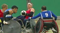Wheelchair rugby -