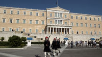 Greece is to form a caretaker government ahead of fresh elections next month after talks aimed at forming a coalition failed (Reuters).