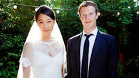 Mark Zuckerberg changed his Facebook status to 'married'