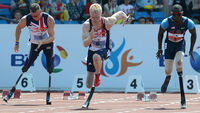 With disabled UK athletes triumphant at the BT World Cup, our next generation of Paralympians is likely to feature many more people who  have already represented their country - on the battlefield.