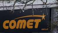 As many as 6,000 jobs at the high street electrical store, Comet, are at risk as the chain faces going into administration (Getty)