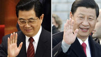 Outgoing Chinese premier Wen Jiabao and his expected replacement Xi Jingping (Reuters)