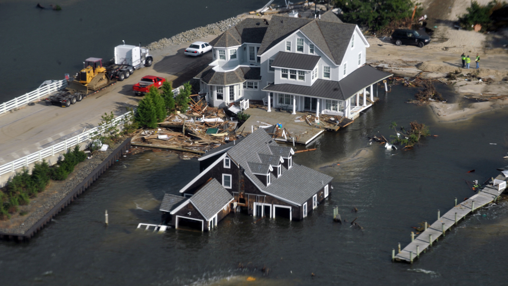 Homes damaged by Hurricane Sandy (Reuters)