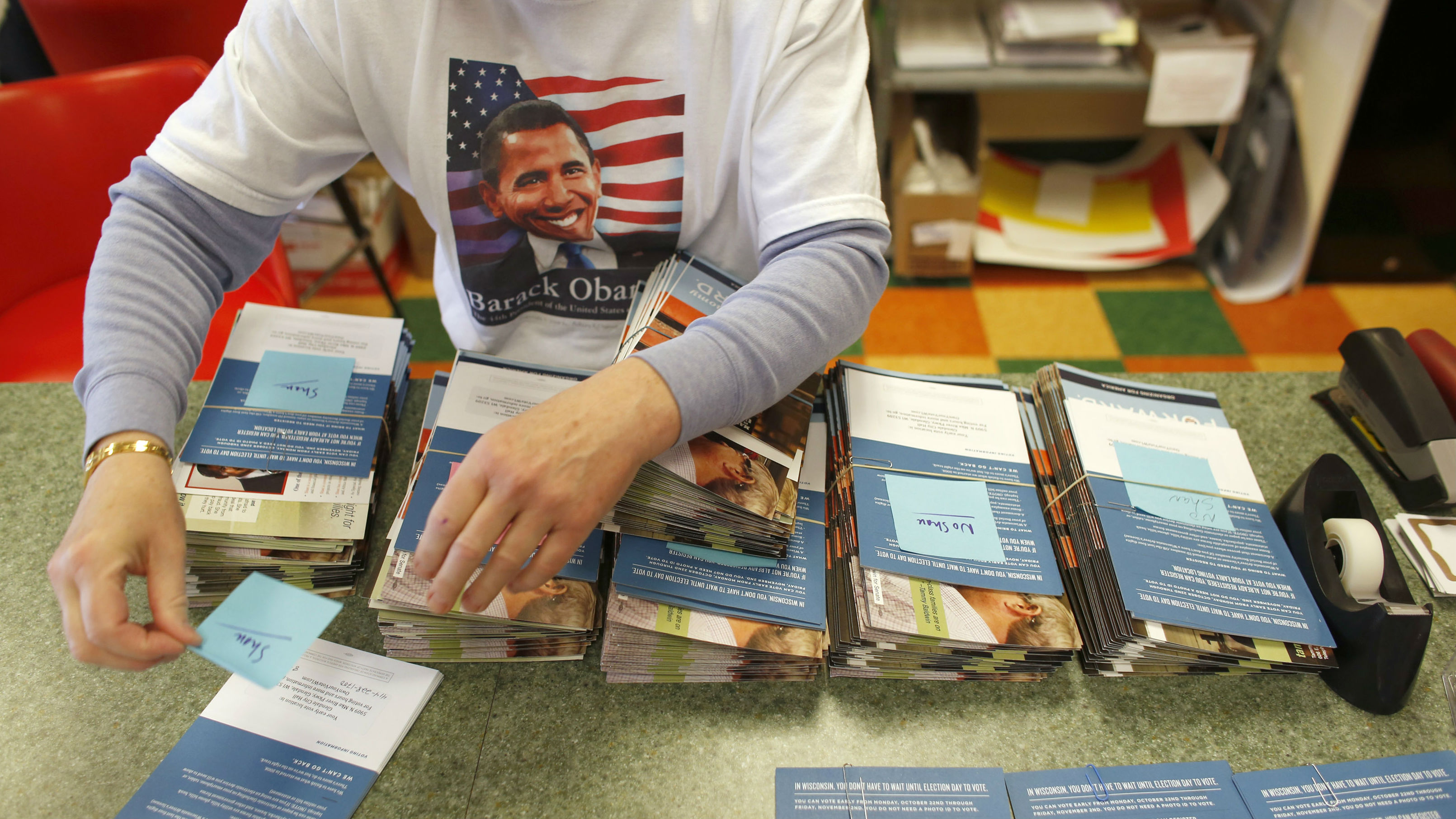 Obama volunteers (getty)
