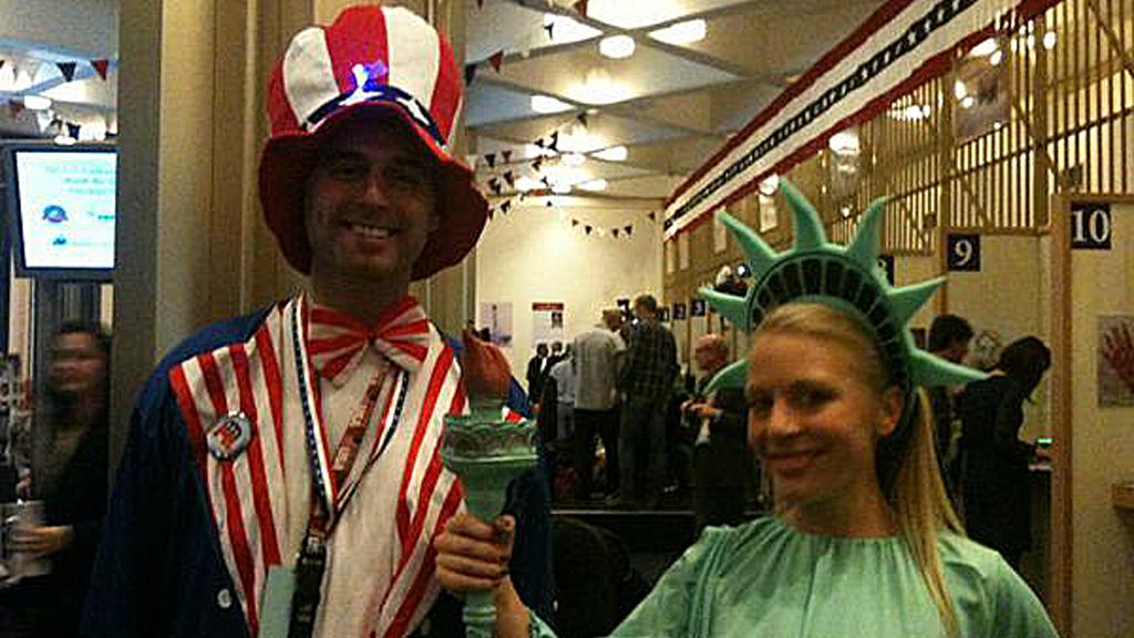 US election 2012: McDonald's, Dixieland, 'dead heat' so far?
