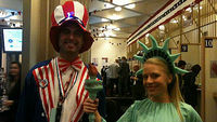 US election 2012: McDonald's, Dixieland, 'dead heat' so far?