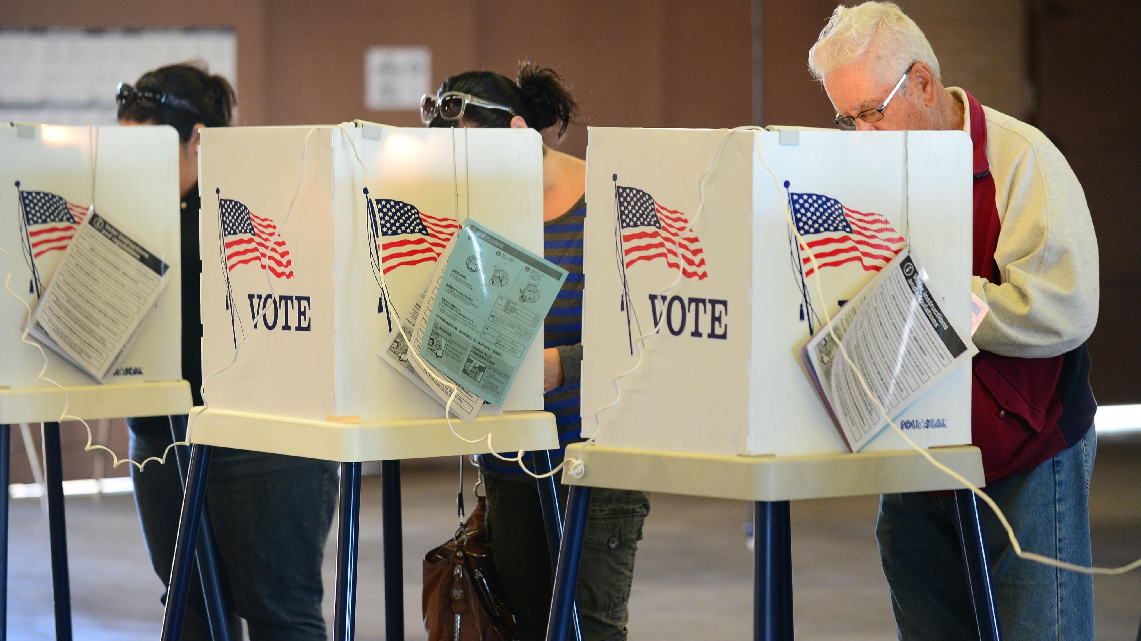 voting station (getty)