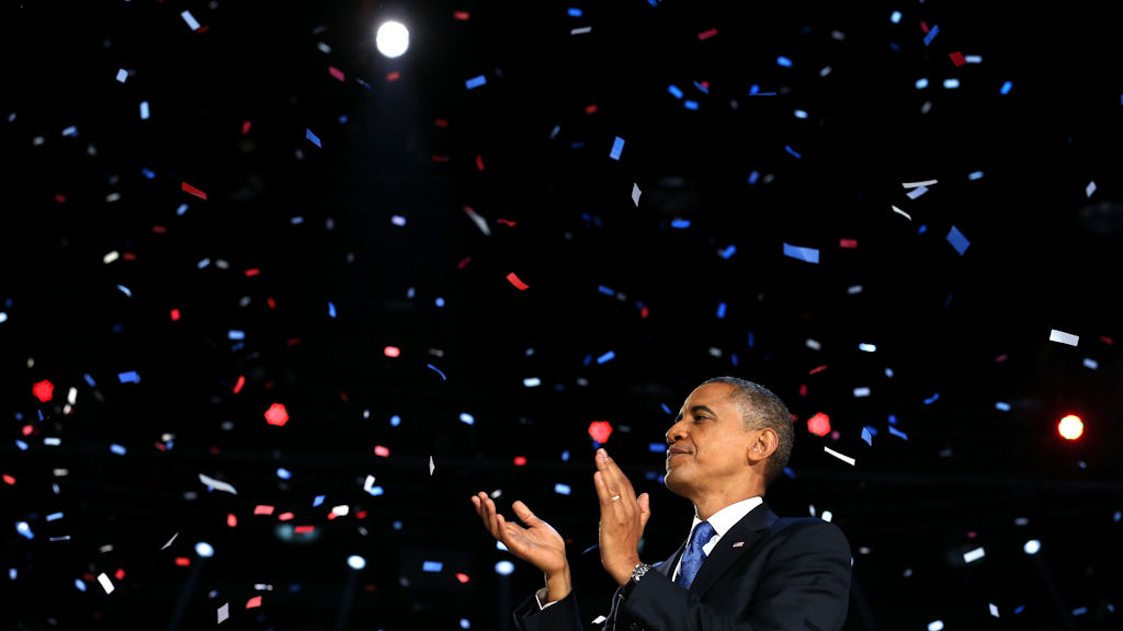 Obama wins US election (Reuters)