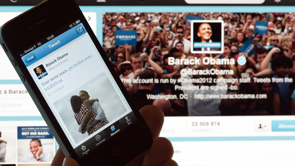 US election night tops Twitter record (G)