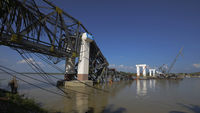 The Radana Thinga Bridge (Reuters)