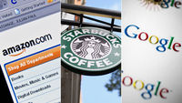 Starbucks, Amazon and Google grilled by MPs on tax (G)