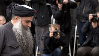 Abu Qatada arrives at court (Reuters)