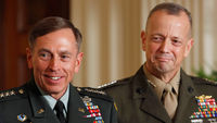 Generals David Petraeus and John Allen (Getty)