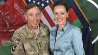 Petraeus with Paula Broadwell (reuters)