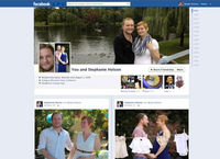 Cute or cringe? Facebook's new couple pages (Facebook)