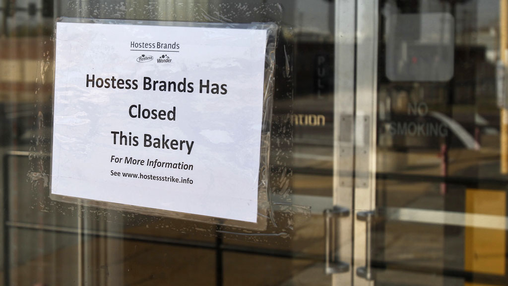 Hostess factory closed (Reuters)