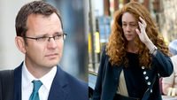 Andy Coulson and Rebekah Brooks (Reuters)