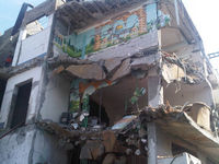 House hit by two missiles in Gaza City overnight.